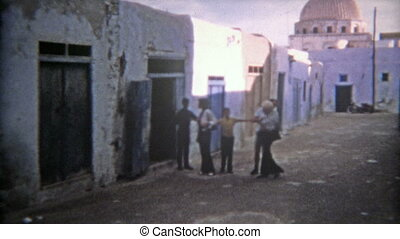1972: Moroccan ancient old town - 100% unique vintage 8mm...