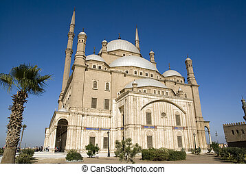 Mohamed Ali Mosque,the Saladin Citadel of Cairo,Egypt