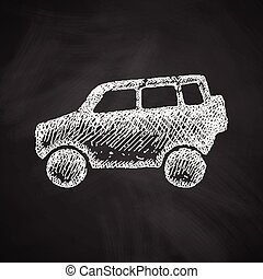car SUV icon