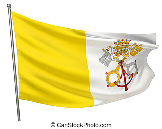 Vatican City Holy See Flag