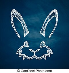 easter rabbit icon