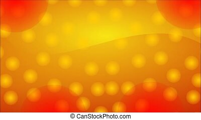 Gold and red glitter - Animation of illustration seamless...