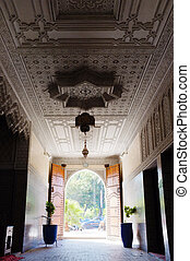 Grand entrance hall in Marrakesh Morocco - Photo of an...