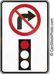 No Right Turn On Red in Canada