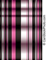 pink n black blind - Modern style blind showing creases in...