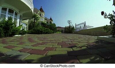 Relax Hotel by sea - Near coast of Black Sea Crimea curly...