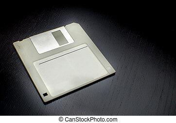 grey floppy
