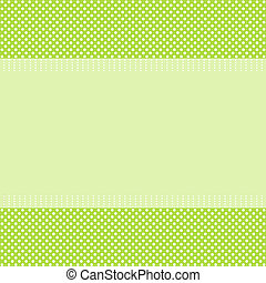 Retro greeting card template design Vector card