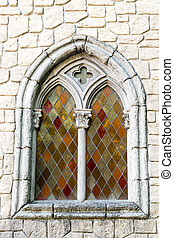 Window in medieval style.
