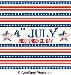 Independence day - Background with national signs and colors...
