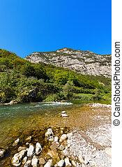 Sarca River - Trentino Italy