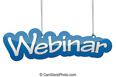 background webinar - This is blue background webinar