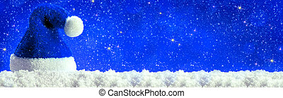 Christmas blau background - Christmas blau background with...