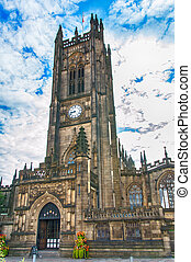 Manchester Cathedral - Manchester - city in North West...