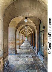 Central Library Manchester - Passageway at Central Library,...