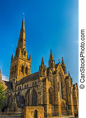 Salford Cathedral - Greater Manchester, North West England...