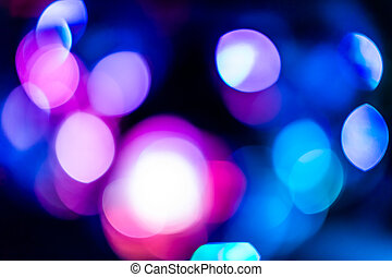pink Bokeh lights - Background with bokeh defocused lights...