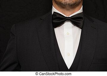 Gentleman in Black Tie
