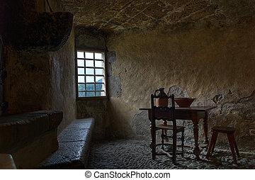 Castle Window in Kitchen