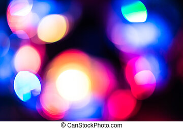 violet bokeh lights - Background with bokeh defocused lights...