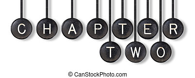Typewriter buttons, isolated - Chapter two - Typewriter...