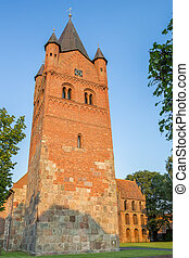 Sankt Petri Church of Westerstede in Lower Saxony, Germany