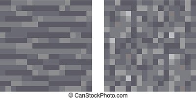 Texture for platformers pixel art vector - stone and gravel...