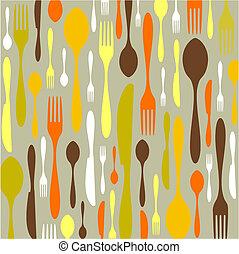Cutlery pattern