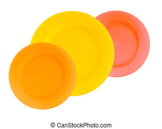 colorful reusable dinnerware