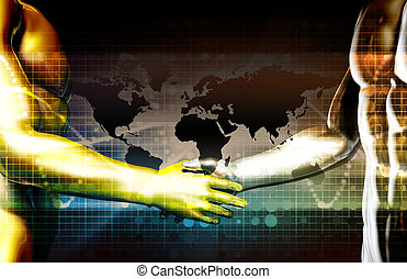Business Agreement and Cooperation Between Two Businesses