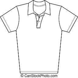 Polo Shirt - Polo shirt isolated on a white background.