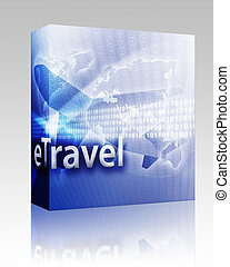 Online travel box package