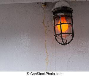Exterior ship light