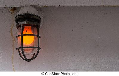 Exterior ship light