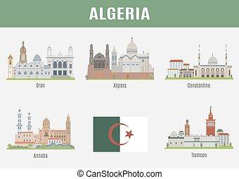Cities in Algeria.  Famous Places Algerian cities