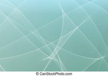 Soothing Abstract Glowing Lines Background - A Soothing...