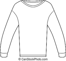 Thermal Shirt - Thermal shirt isolated on a white...
