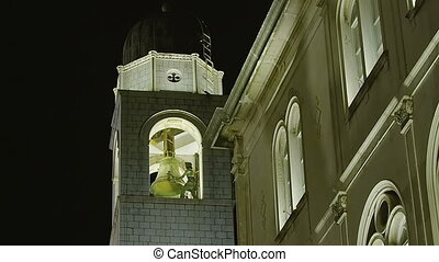 Dubrovnik old city by night - Famous Dubrovnik old city...