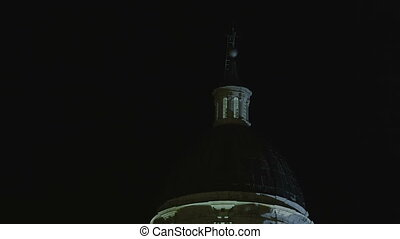 Dubrovnik old city by night - Dubrovnik old city Cathedral...