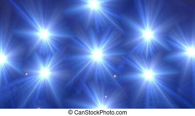 star glow blue pattern - beautiful star lens flare effect is...