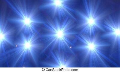 star glow blue pattern