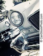自動車, アメリカ人, 古典,  -, レトロ