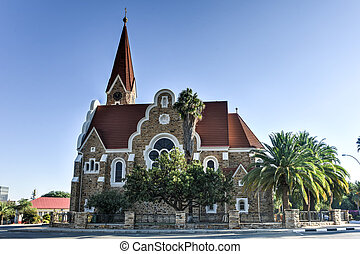 Christ Church - Windhoek, Namibia - Christuskirche (Christ...