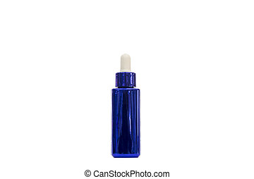 Dropper of essential oil, aromatherapy essence, or medicinal...