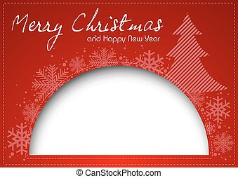 Red Christmas Greeting
