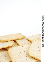 queso, Galletas, ramo,  rectangular
