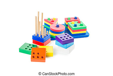 logical and geometric pyramids - Early learning Montessori...