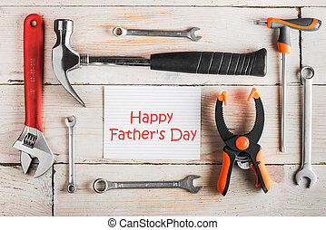 carpentry tools, Happy Father's Day