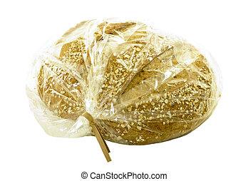 Multigrain Bread in Plastic Bag - Multigrain bread in...