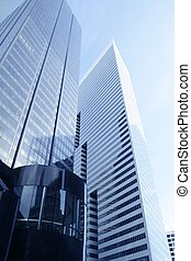 Downtown Houston Texas city buildings - Downtown Houston...